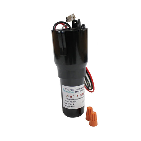 3-in-1 Start Relay, Capacitor & Overload Device Start Kit Fits Refrigerators & Freezers | Part # HS41 RCO410