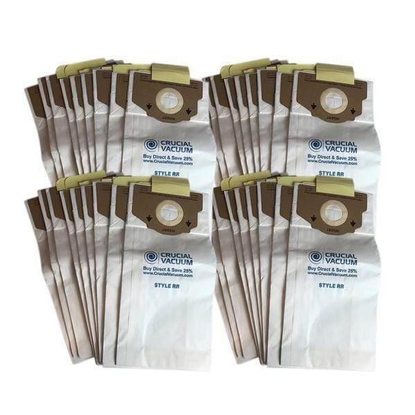 Replacement Paper Vacuum Bags, Fits Eureka RR, Compatible with Part 61115-12, 61115, 61115A, 61115B, 61115C & 63295A
