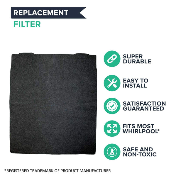 Replacement Carbon Pre Filter, Fits Kenmore & Whirlpool Air Purifiers, Compatible with Part 83377 & 8171433