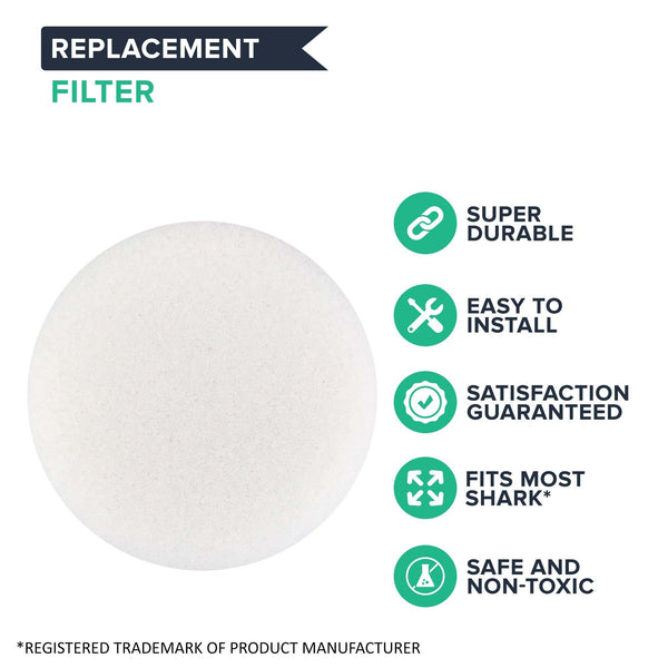 Replacement Foam Filter, Fits Shark SV1106 & XF1100T Navigator Freestyle Cordless, Compatible with Part SV1006