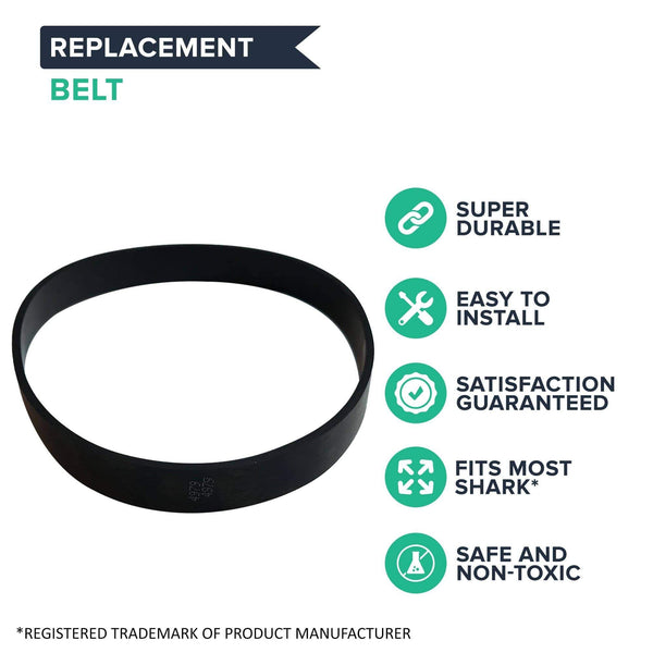 Replacement Belts, Fits Shark Infinity, Compatible with Part 1102FP