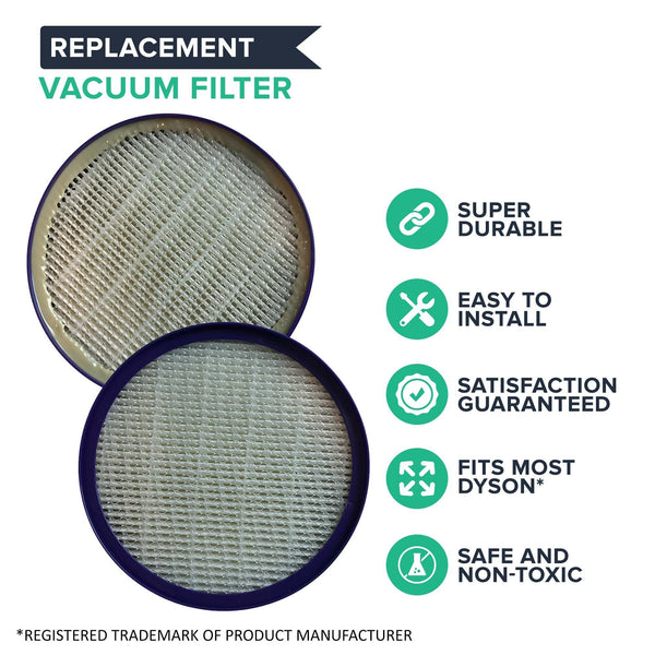 Replacement Post HEPA Style Filter, Fits Dyson DC27, DC28, Compatible with Part 915916-03
