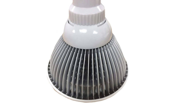 LED Grow Light Bulb for Greenhouses & Grow Rooms, E26 / E27 12w 3 Bands | Gardening | Think Crucial | Planthouse