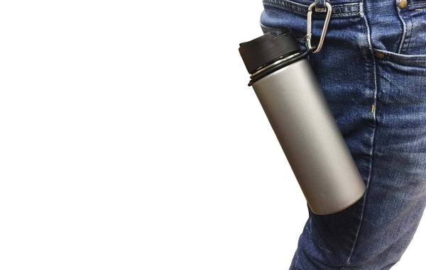 Hydro Flask 18oz Wide Mouth, 32oz, 40oz & 64oz Ring & Carabiner | Kitchen & Dining | Hydro Flask | Outdoor