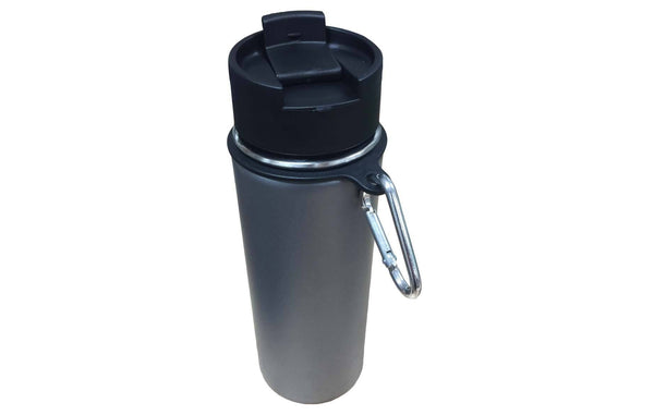 Replacement Flip Lid, Lid & Straws, Paracord Handle, Ring & Carabiner, Fits Hydro Flask