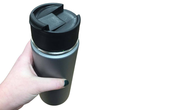 Perfect Kit For Your Hydro Flask: Flip Lid, Lid & Straws, Paracord Handle, Ring & Carabiner | Kitchen & Dining | Hydro Flask | Durable