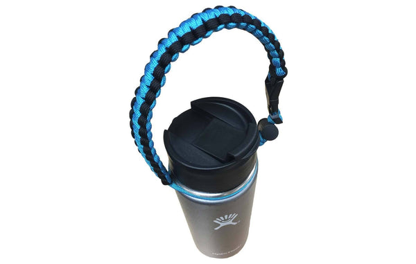 Perfect Kit For Your Hydro Flask: Flip Lid, Lid & Straws, Paracord Handle, Ring & Carabiner | Kitchen & Dining | Hydro Flask | Long Lasting