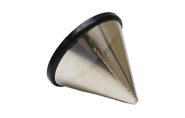Washable & Reusable Stainless Steel Cone Coffee Filter | Fits Chemex 6, 8 & 10 Cup Coffee Makers & Pour Over Kettle | Kitchen & Dining | Chemex | Durable