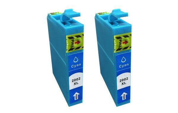 Replacement Cyan Toner Ink Cartridge, Fits Epson 200XL, Compatible with Part T200XL120