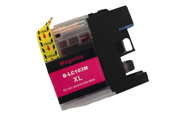 4PK Brother Black, Cyan, Magenta & Yellow Toner Ink Cartridges | Part # LC-103XL | Office | brother | Affordable