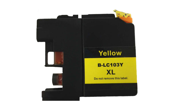4PK Brother Black, Cyan, Magenta & Yellow Toner Ink Cartridges | Part # LC-103XL | Office | brother | Long Lasting