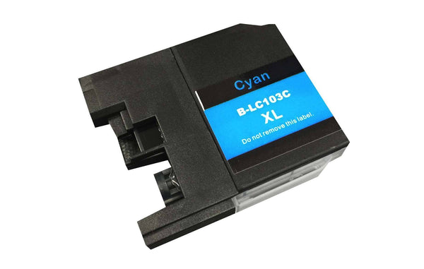Brother Cyan Toner Ink Cartridge | Part # LC-103XL | Office | brother | Efficient