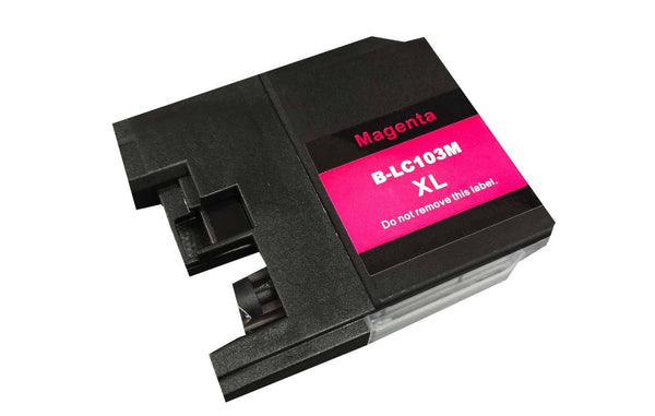 Brother Magenta Toner Ink Cartridge | Part # LC-103XL | Office | brother | Efficient