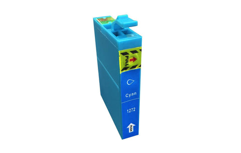 Replacement Cyan Toner Ink Cartridge, Fits Epson 127, Compatible with Part T127120