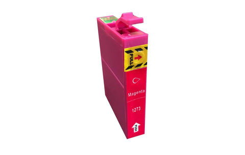 Replacement Magenta Toner Ink Cartridge, Fits Epson 127, Compatible with Part T127120