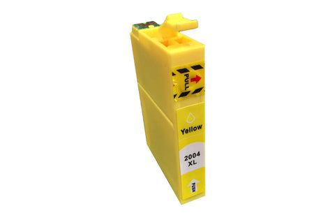 Replacement Yellow Toner Ink Cartridge, Fits Epson 200XL, Compatible with Part T200XL120