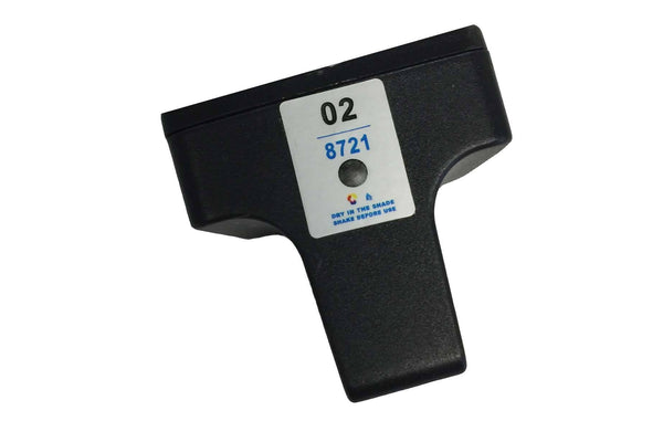 HP 02 Black Ink Cartridge | Part # C8721WN & 140  | Office | HP | Long Lasting