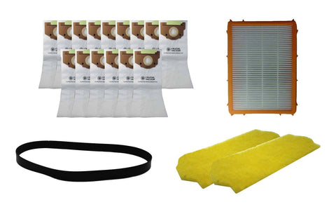 Replacement 1 Year Kit, Fits Eureka Smart Vac, Compatible with 18 RR Bags, HF2 Filter, 2 Motor Filters & 1 R Belt