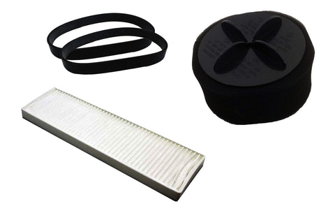 Replacement Style 9 Filter & Belt Kit, Fits Bissell CleanView,PowerClean & More, Compatible with Part 203-1183, 32076 & 32074