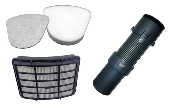 Shark Floor Nozzle Hose, HEPA Style Filter, Foam & Felt Filter Kit Fits Navigator Lift-Away Series | Part # XFF350, XHF350 & 156FFJ | Vacuum & Floor Care | Shark | Affordable