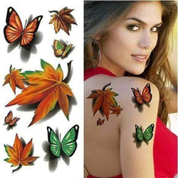3D impermeable tatuaje indoloro(30pcs)