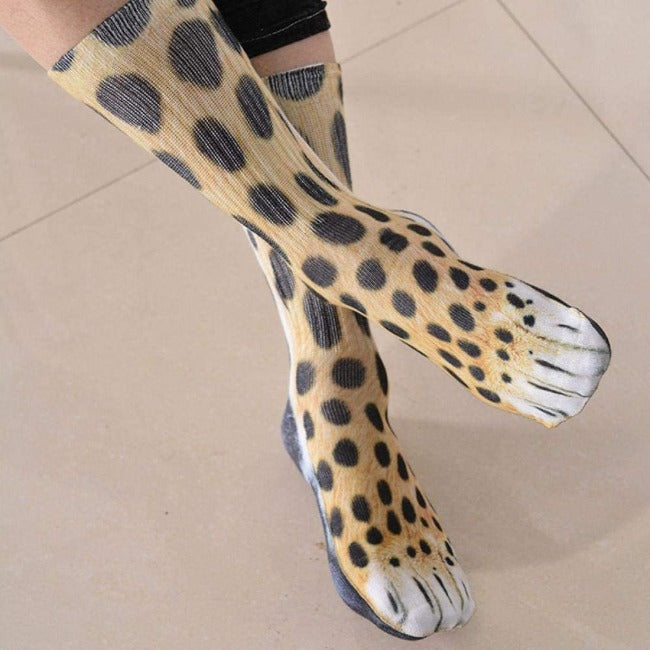SeraChoice Calcetines 3D Animal Paw