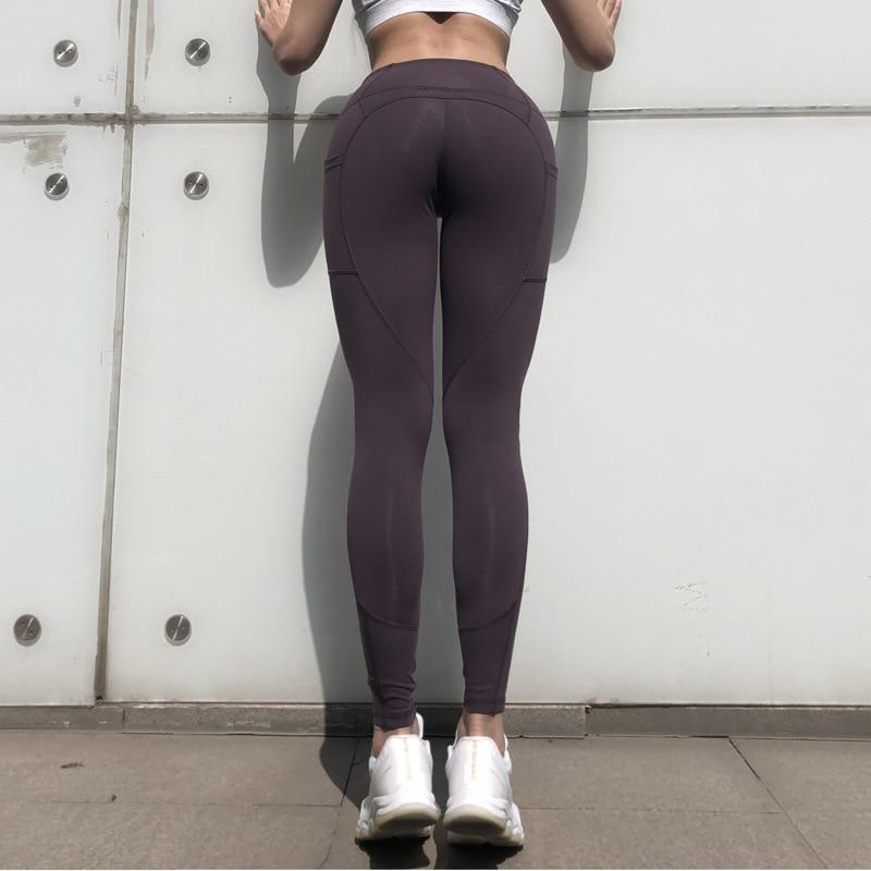 SeraChoice Yoga Leggings con Bolsillos