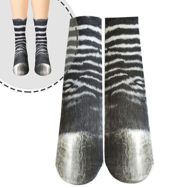 ZSY Calcetines 3D Animal Paw