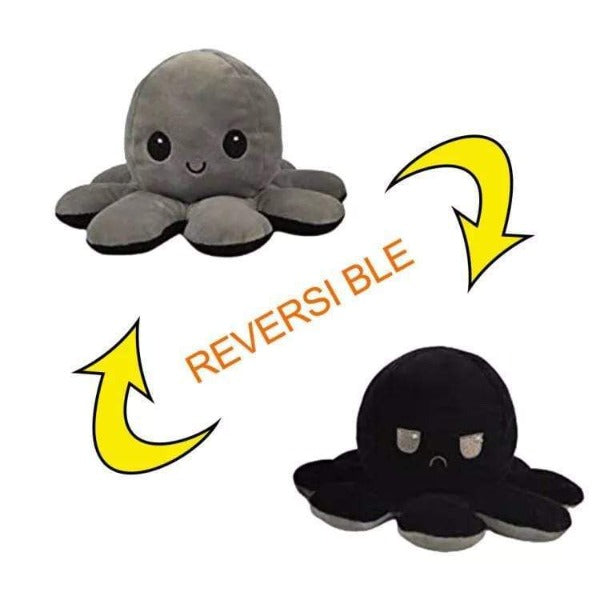 Peluche Pulpo Reversible