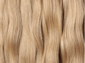 Ash blonde weft Russian hair extensions Australia