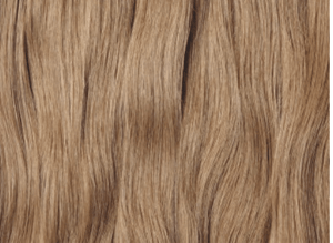 Dark blonde weft Russian hair extensions Australia