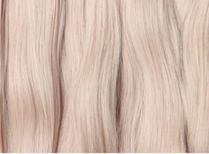 bleached blonde hair tape hair extensions Australia