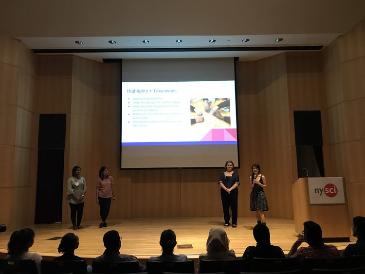 Kumari, Leah, Yuliya and Sam shared their highlights and takeaways