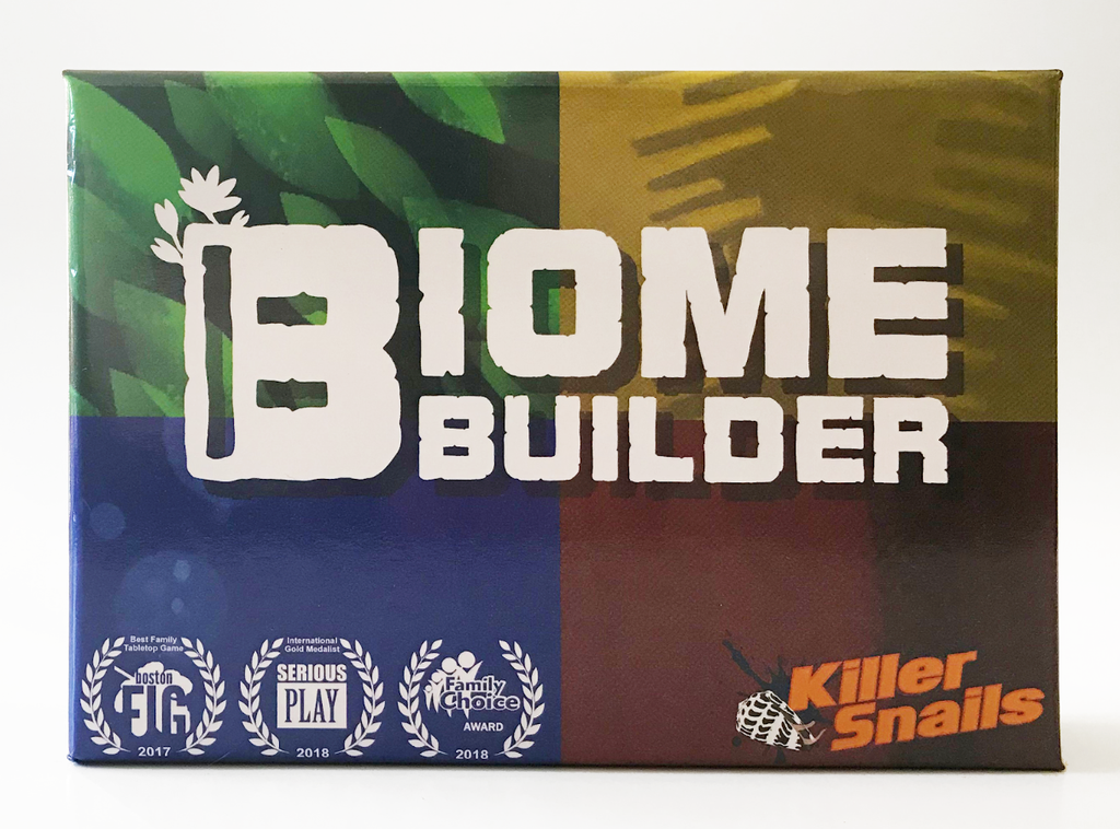 Second edition of Biome Builder!