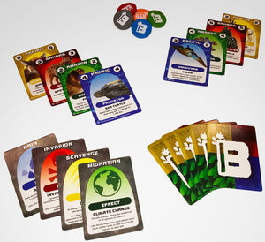 Biome Builder- card game