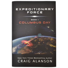 Columbus Day (Expeditionary Force Book 1) - Hardcover - Autographed and Personalized