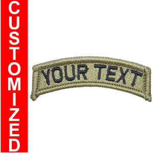 Custom Text Patch Fully Embroidered OCP - Tab