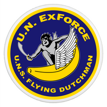ExForce Flying Dutchman Logo - Pop It - Smartphone Grip and Stand