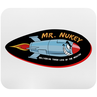 Mr. Nukey Mousepad
