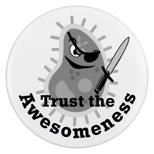 Trust the Awesomeness - Pop It - Smartphone Grip and Stand