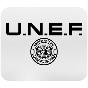 U.N.E.F ExForce Logo Mousepad