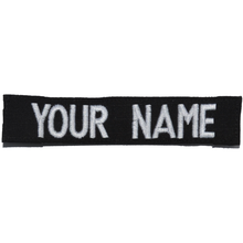 RipStop Name Tape - Black