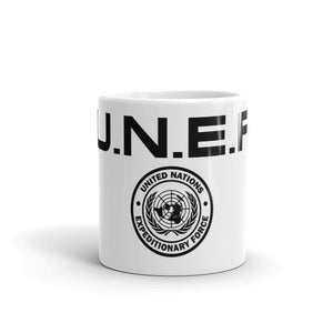 U.N.E.F. ExForce Logo Mug