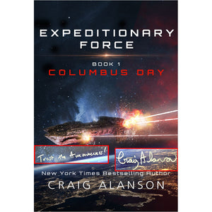 Columbus Day (Expeditionary Force Book 1) Poster - 24x18 - Autographed