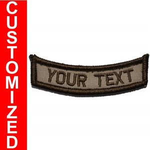 Custom Text Patch - Rocker