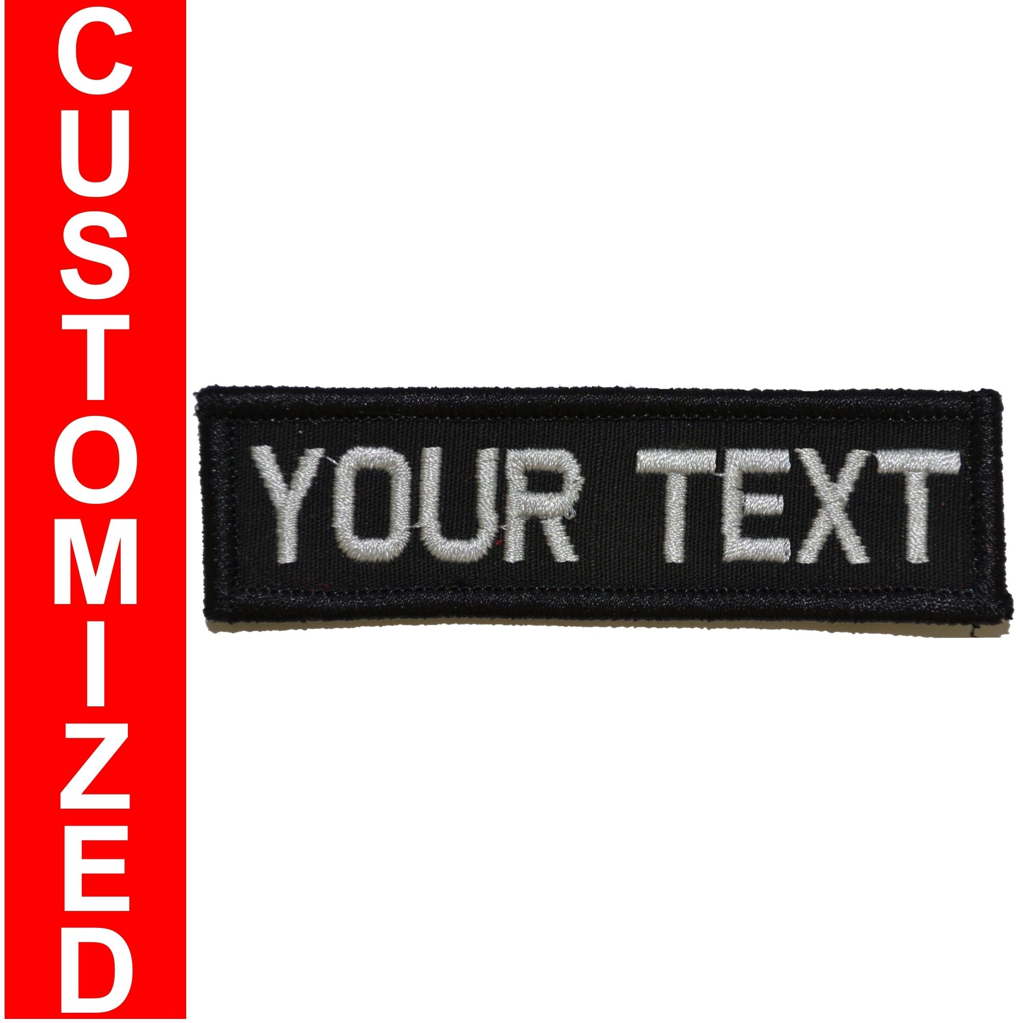 Custom Text Patch - 1x3