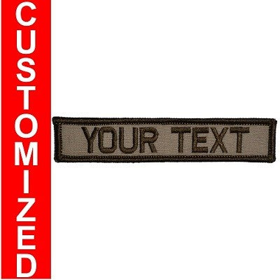 Custom Text Patch - 1x5