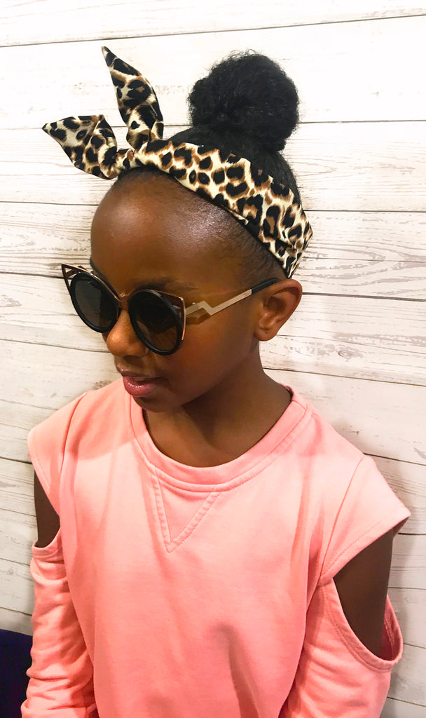 WILD ANIMAL TWIST HEADBAND