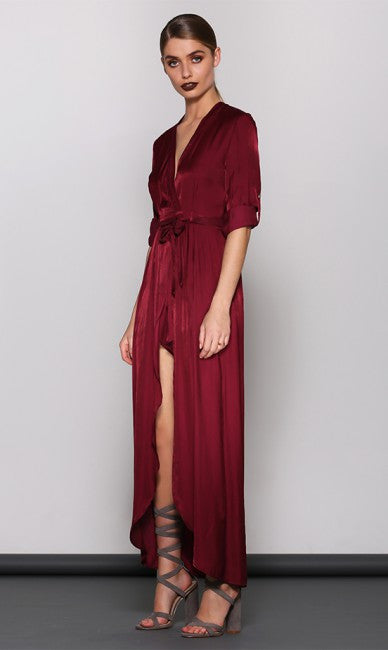 Oxblood Jumpsuit