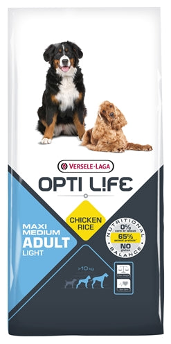 Opti life adult light medium/maxi 12,5 kg